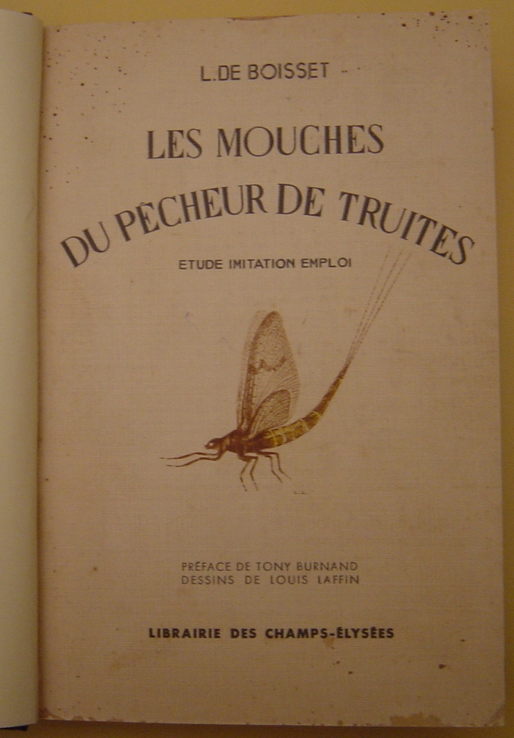 Favori Mouch'antic - Présentation de matériel ancien de Pêche à la Mouche QR31